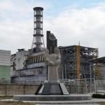 Памятник в Чербнобыле