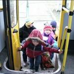 Дети в транспорте